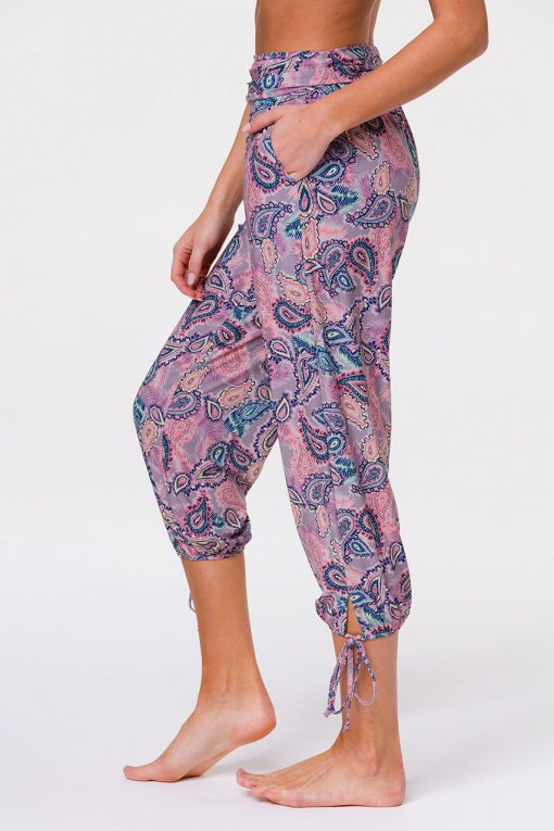 Onzie gypsy pants tropical paisley