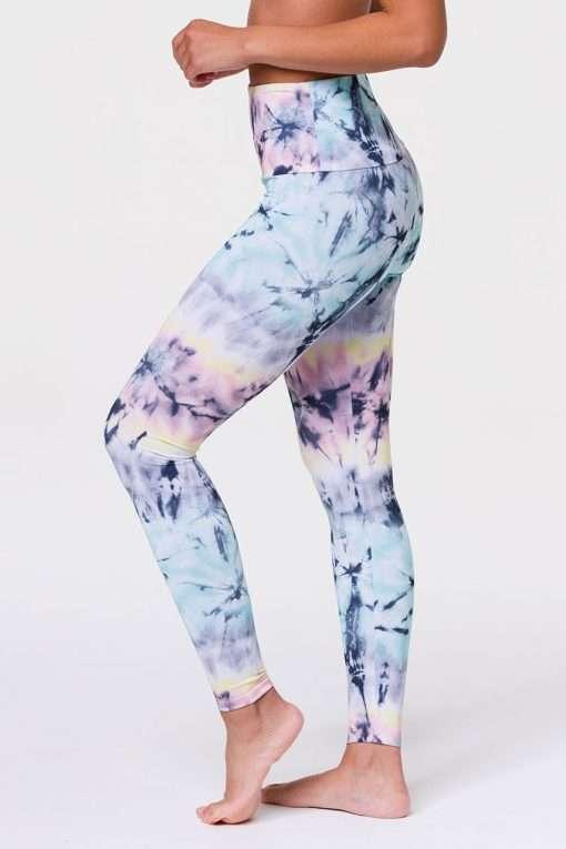Onzie HIGH RISE Full Length Yoga Leggings Dazed