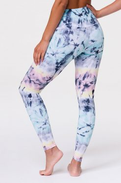 Onzie HIGH RISE Full Length Yoga Leggings Dazed