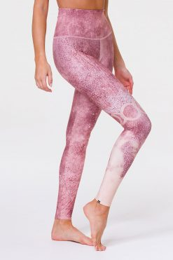 Onzie HIGH RISE Graphic Full Length Yoga Leggings Goddess
