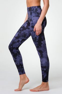 Onzie Yoga Leggings high full length amethyst tie dye