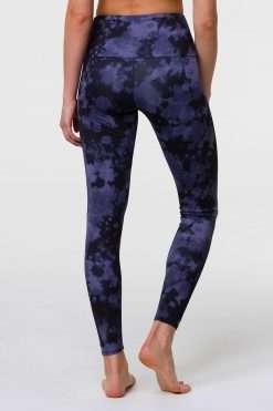 Onzie Yoga Leggings high full length amethyst tie dye