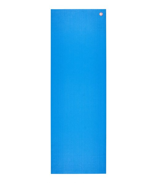 manduka pro travel yoga mat be bold blue