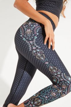 Dharma Bums RECYCLED eco Yoga Leggings - Bohemian Soul