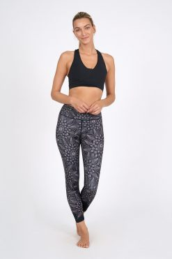 Dharma Bums Recycled Eco Yoga Leggings Acapella