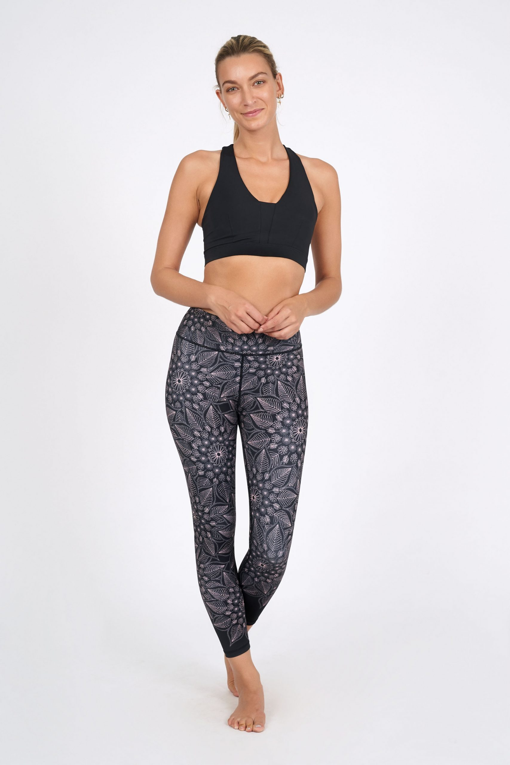 Dharma Bums Recycled Eco Yoga Leggings Acapella