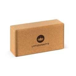 Sustainable cork yoga block brick props
