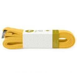 Lotuscrafts Organic yoga strap yellow Saffron