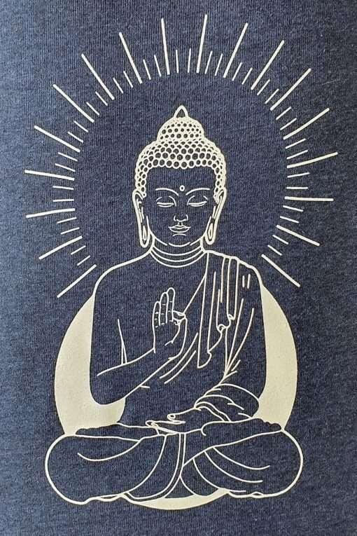 Oceanflow Yoga Wear Jumper Zen State Navy Blue