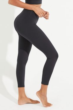 Dharma Bums Wonder Luxe midi Yoga Leggings black