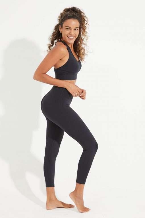 Dharma Bums Wonder Luxe midi Yoga Leggings black