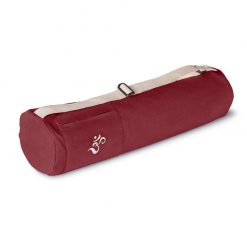 Lotuscrafts mysore yoga bag bordeaux red