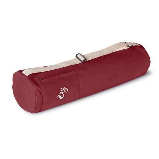 Lotuscrafts mysore yoga bag bordeaux red