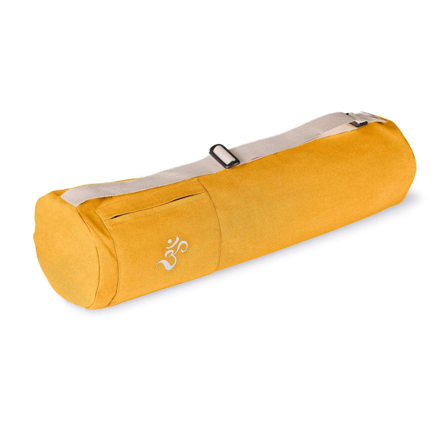 Lotuscrafts mysore yoga bag saffron yellow