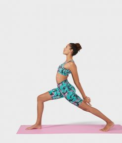 manduka the hot short tropics black bikram