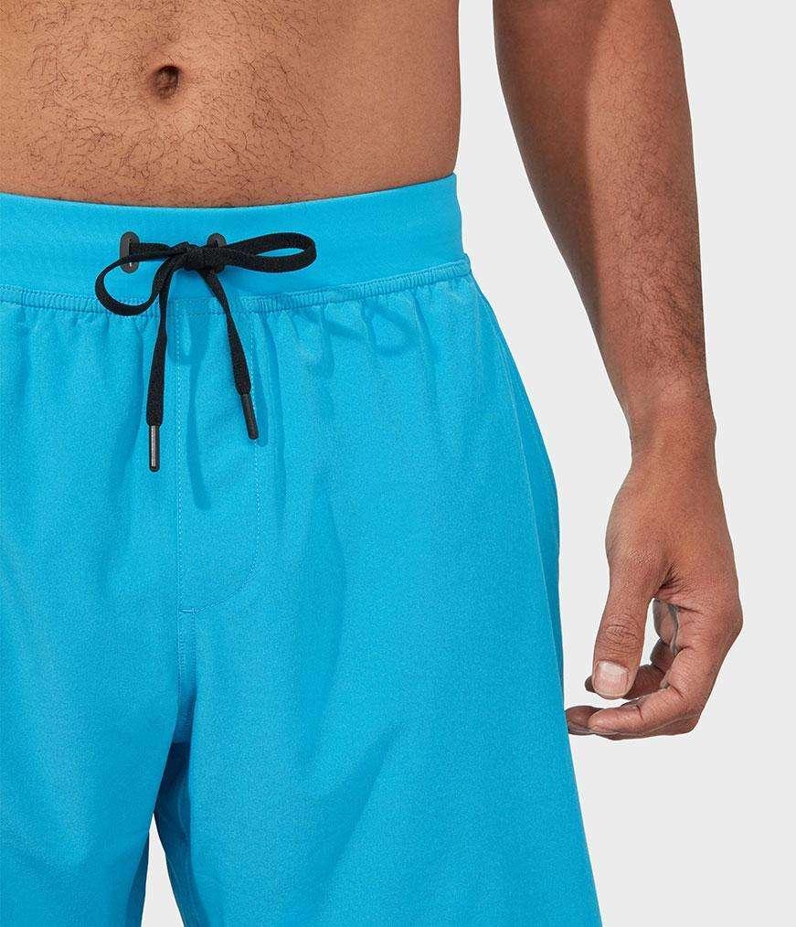 Manduka performance agility shorts mens yoga wear dresden blue