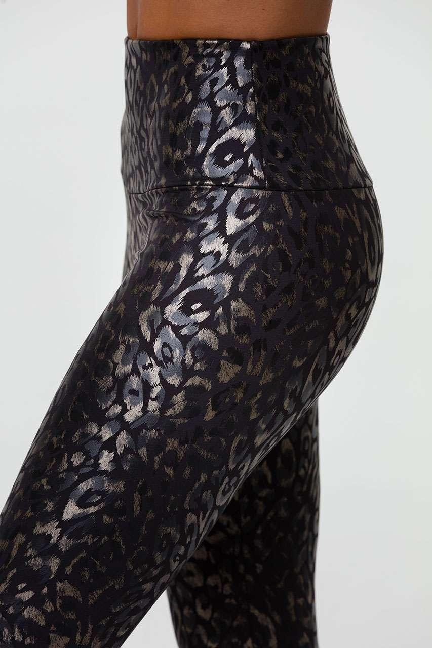 Onzie Midi Leggings Yoga Active Wear Yoga Emporium Foil Regal