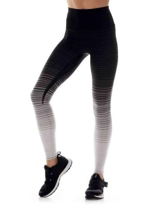 K-Deer Sneaker Midi Legging Stripe