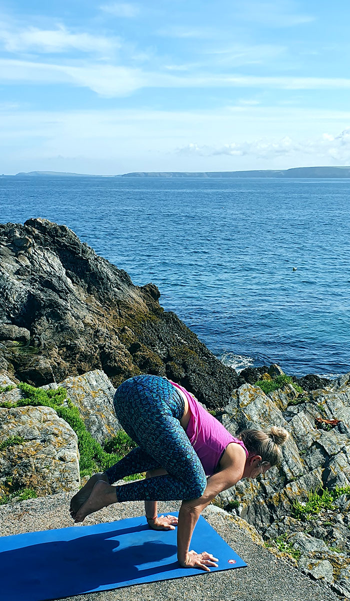 Spirit Girl Eco friendly yoga leggings recycled plastic mermaid
