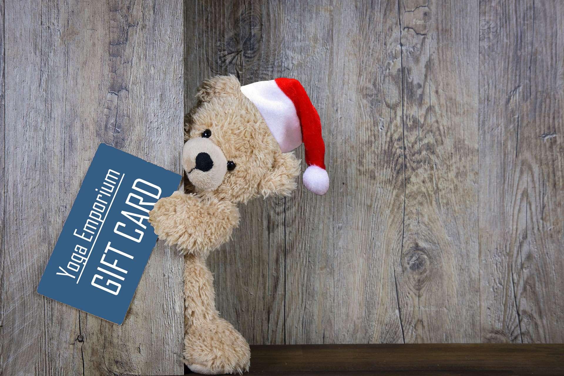 Christmas Gift Card for Yoga Emporium