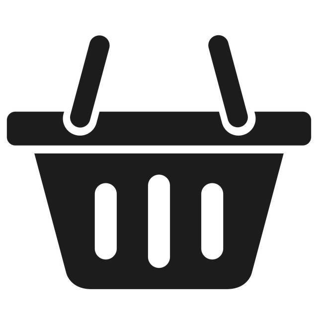 Shopping Cart Icon for Yoga Emporium
