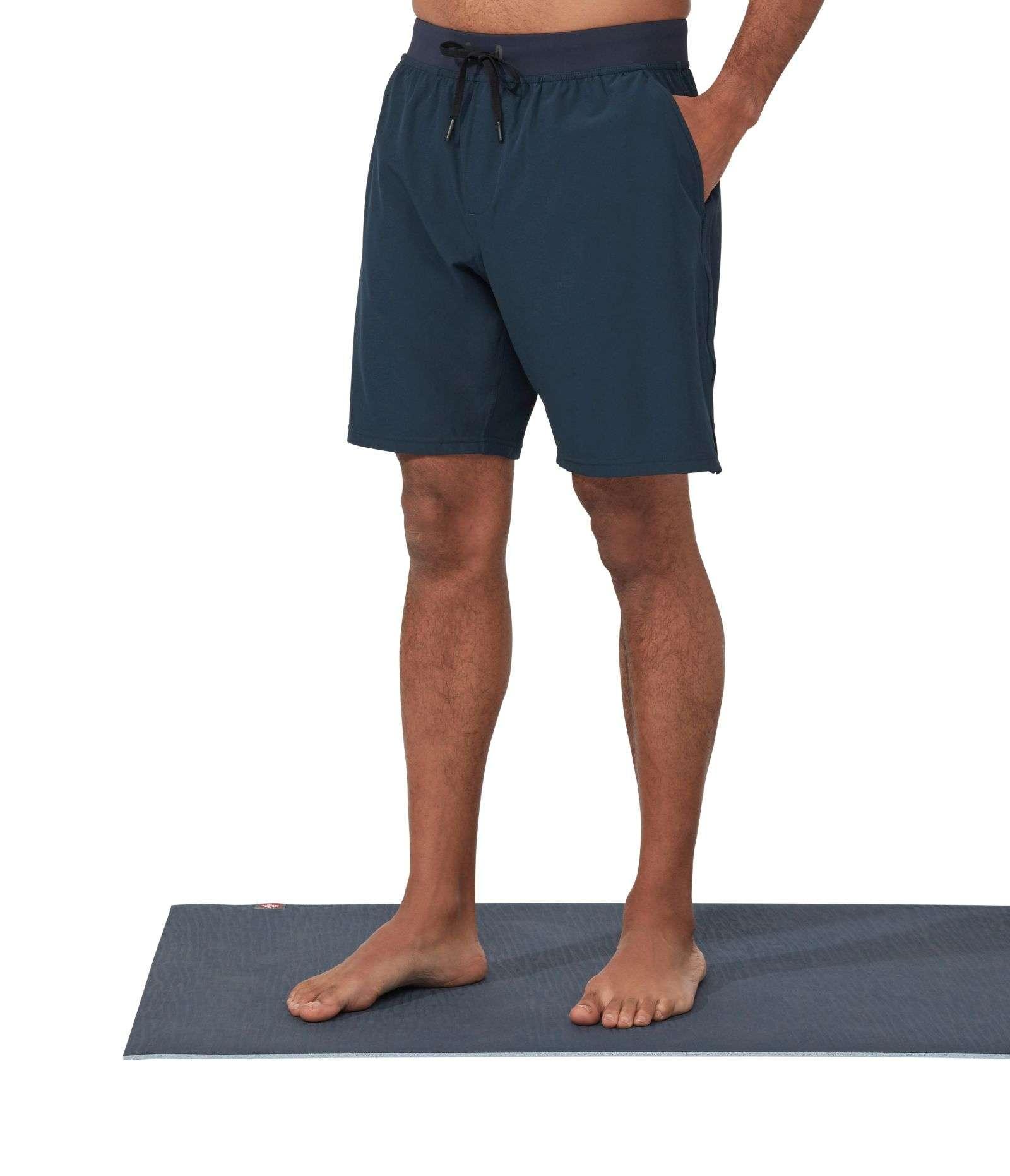 Manduka Agility Yoga Shorts Dark Sapphire