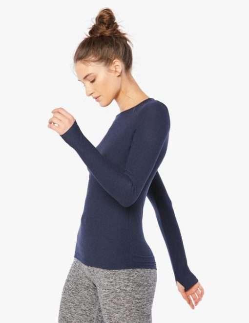 Beyond Yoga Space Dye long sleeve top luxury yoga emporium