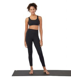 Manduka Presence yoga leggings with pocket black