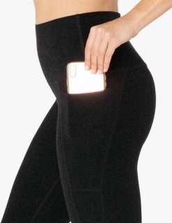 Beyond Yoga Space Dye Midi Leggings luxury yoga emporium pocket
