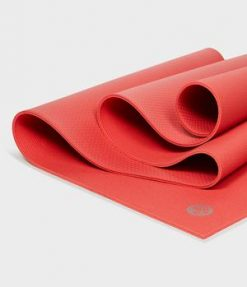 Manduka Prolite Yoga Mat Deep Coral authentic non slip sticky
