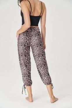 onzie gypsy pants leopard animal print