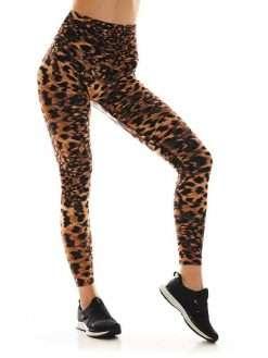 K-Deer Sneaker Midi Legging Animal Print