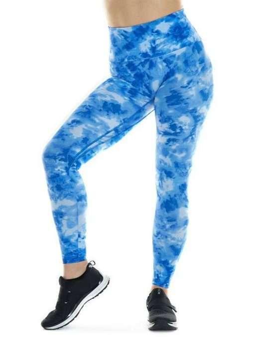 K-Deer Sneaker Midi Legging Tie Dye Print