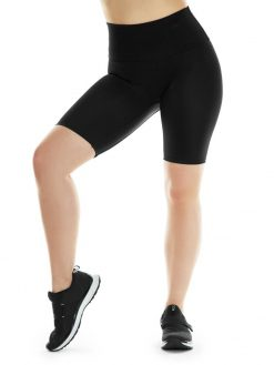 K-Deer Biker Shorts Yoga Black