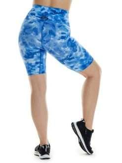 K-Deer Biker Shorts Yoga Tie Dye Print