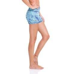 liquido beach yoga shorts panther chameleon hot yoga