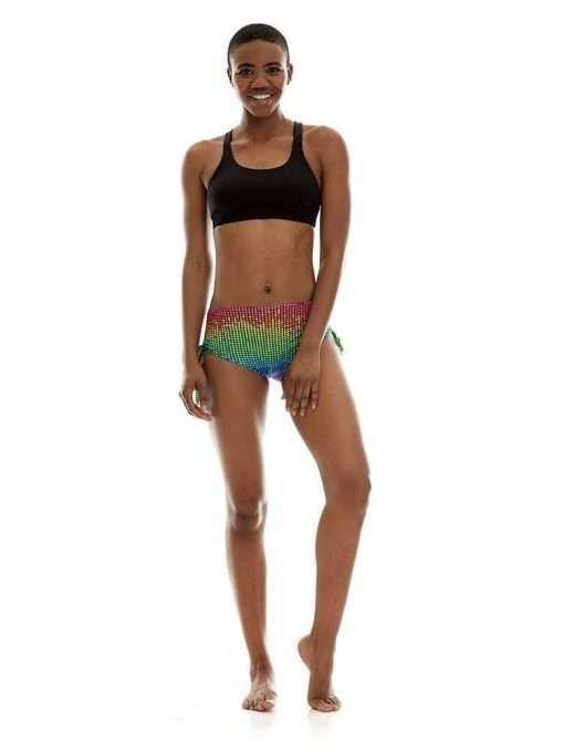 K-Deer Bum Bum Shorts Yoga Hot Beach Disco Dot