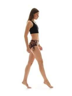 K-Deer Bum Bum Shorts Yoga Hot Beach Animal Print
