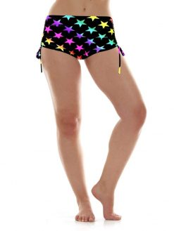 k-deer beach yoga shorts stars hot yoga