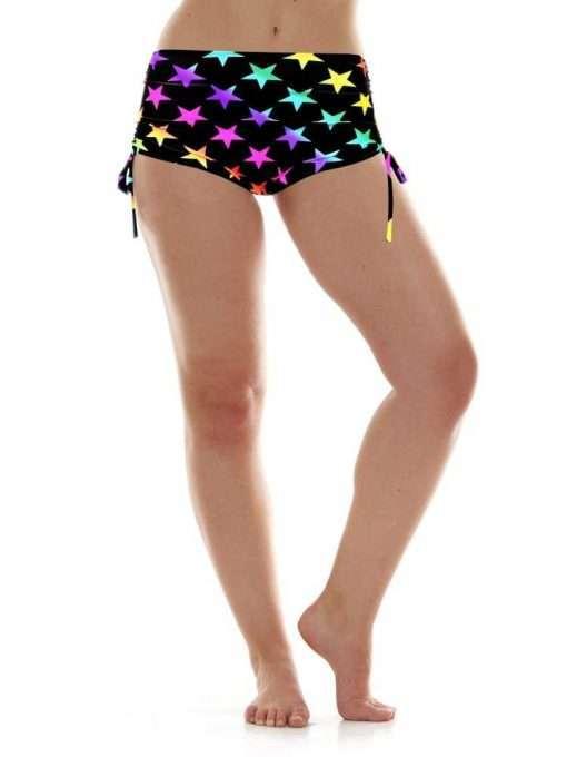 k-deer beach yoga shorts stars hot yoga