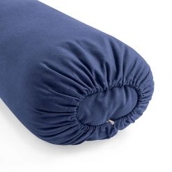 lotuscrafts organic kapok yoga bolster royal blue