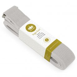 lotuscrafts organic yoga strap grey