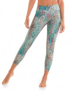 yoga pants liquido mermaid spell summer leggings