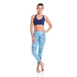 yoga sports bra liquido eco x back navy blue