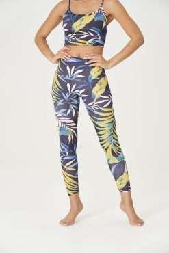 yoga pants onzie plant paradise