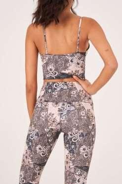 onzie yoga cami crop sports bra top bandana